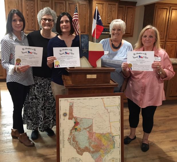 Courtesy of the Picketville Chapter of the Daughters of the Republic of Texasarious area government and business officials break ground on a new facility that should open sometime in 2018.