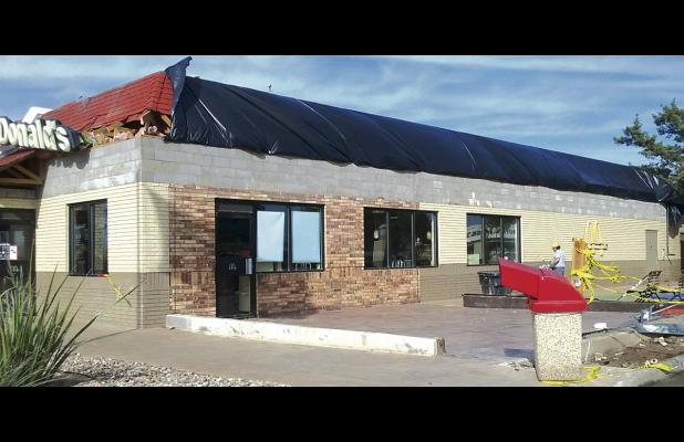 Shown here is the Breckenridge McDonald's, which will close its lobby Nov. 27 through Jan. 5 as part of a remodeling project.