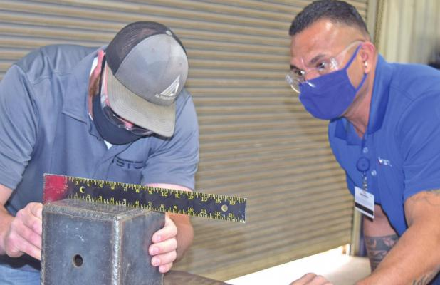 TSTC hosts welding competition for high school students