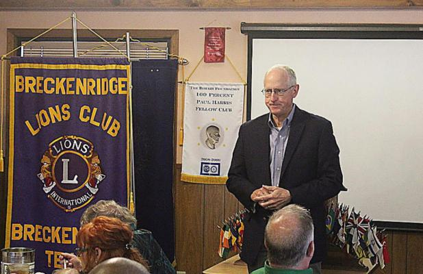 Conaway bids farewell to Lions Club, District 11