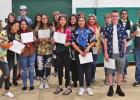 BHS band presents awards