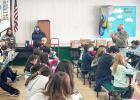 Rotary presents dictionaries to BISD students