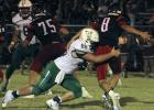 Junior defensive lineman Lane Berkley sacks Eastland's quarterback.